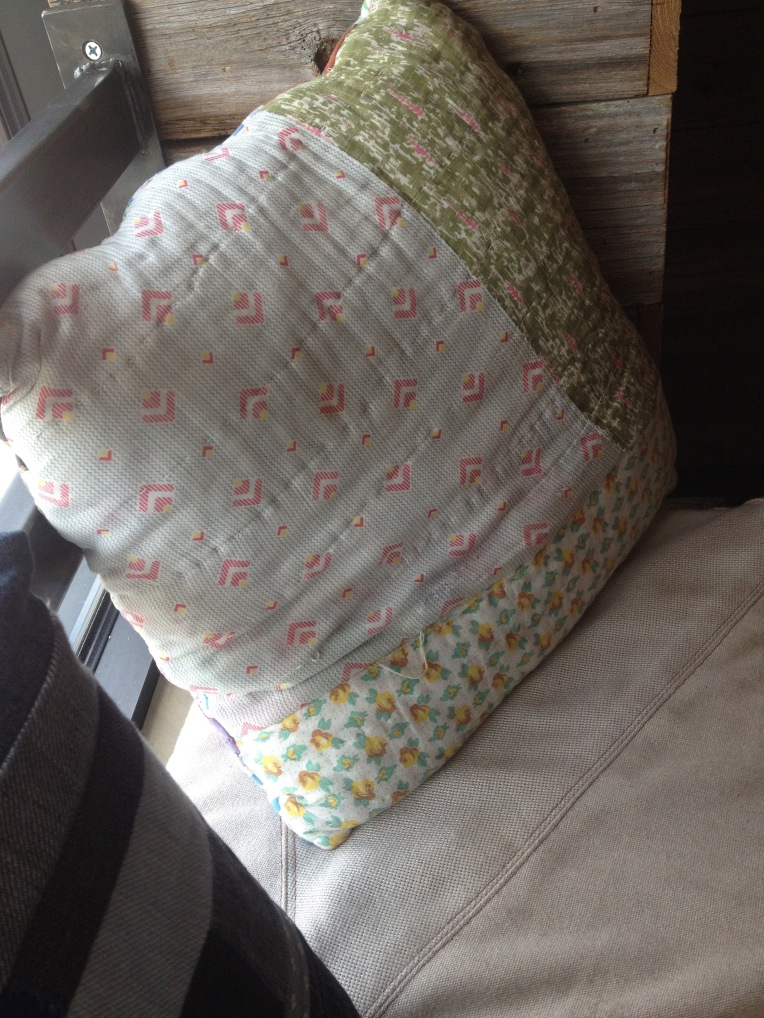 Poor picture of the really cute pillows